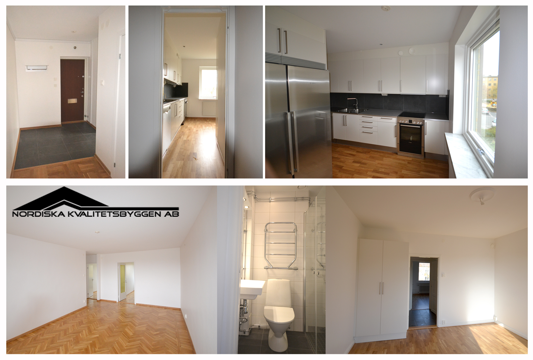 Totalrenovering av lägenheter för Wallenstam